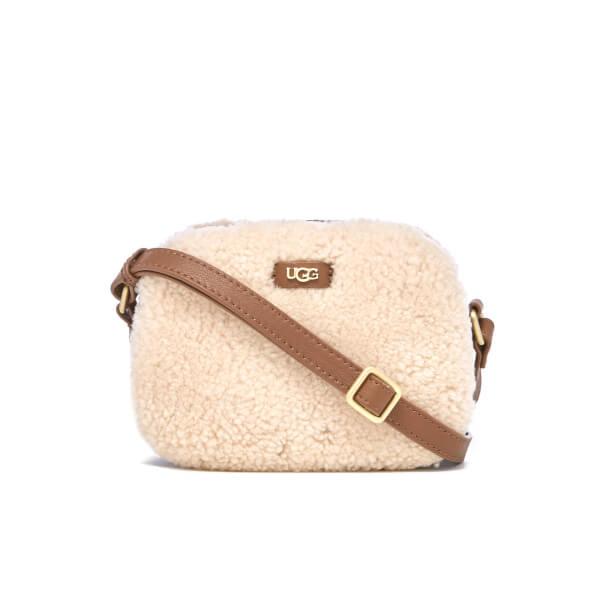 UGG Women's Claire Box Zip Cross Body Bag - Chestnut