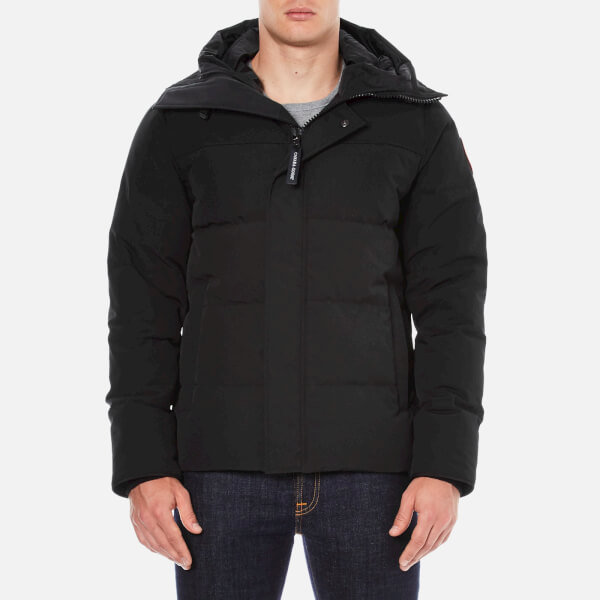black canada goose puffer jacket