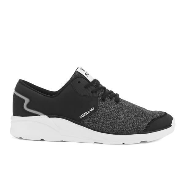 Supra Men's Noiz Low Top Trainers - Black/White