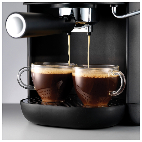 Morphy Richards Coffee: Morphy Richards 172004 Accents Brushed Espresso Coffee