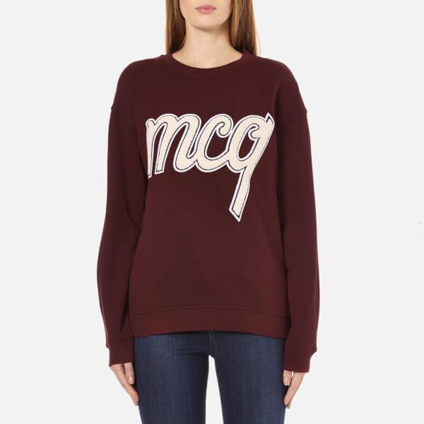 McQ Alexander McQueen Women's Classic Sweatshirt - Port
