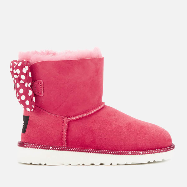 UGG Kids' Sweetie Bow Disney Boots - Red: Image 1