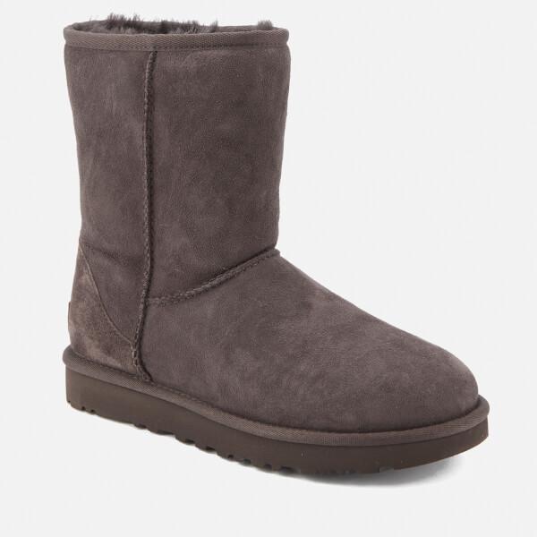 UGG Women's Classic Short II Sheepskin Boots - Chocolate - UK 3.5 Original Online PXU1KVl197