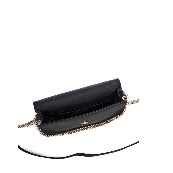 70f026cbd50f4 DKNY Women s Bryant Park Small Flap Crossbody Bag - Black  Image 5