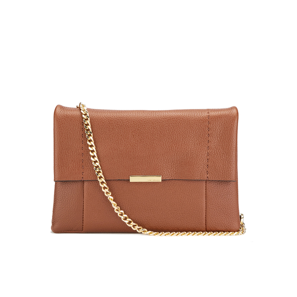 beec5e718 Ted Baker Women s Parson Small Flap Crossbody Bag - Brown  Image 1