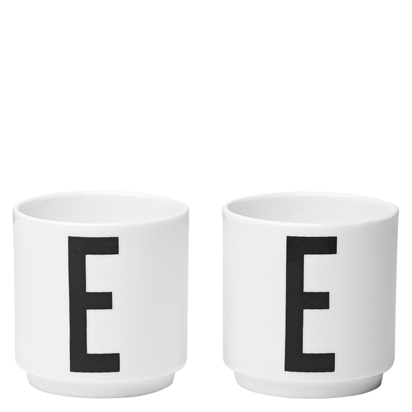 Design Letters Egg Cups - Set Of 2