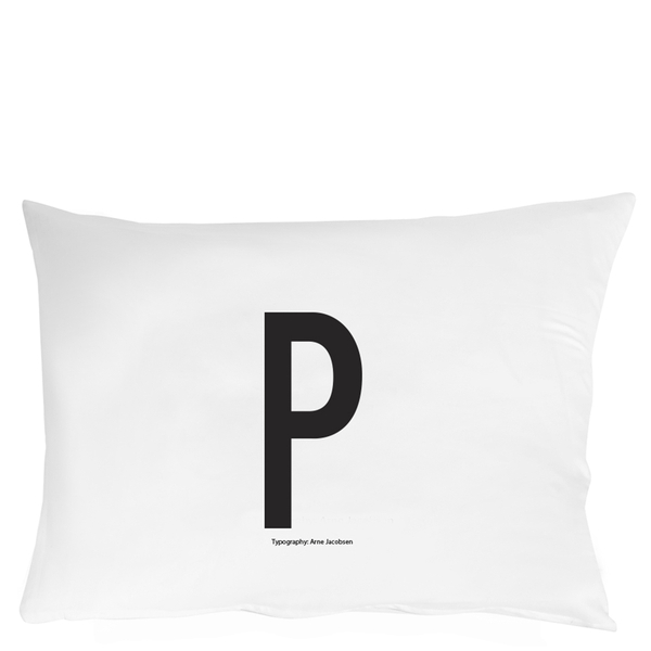 Design Letters Pillowcase - 70x50 cm - P