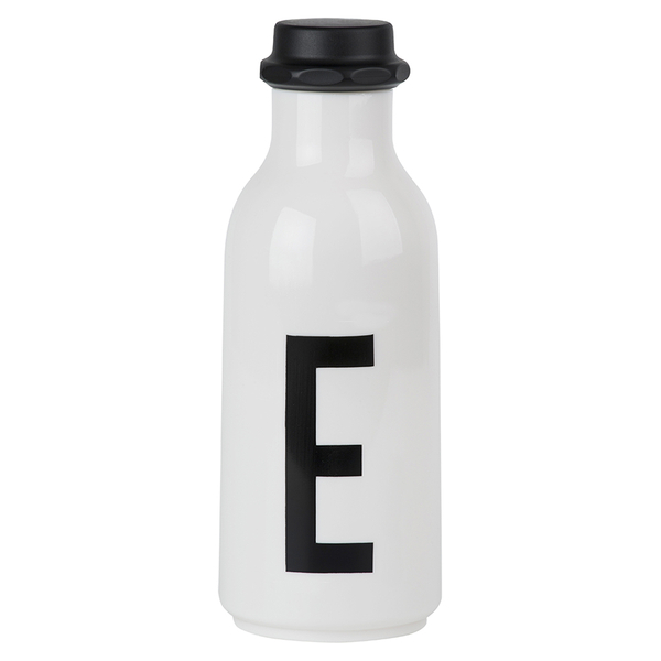 Design Letters Water Bottle - E