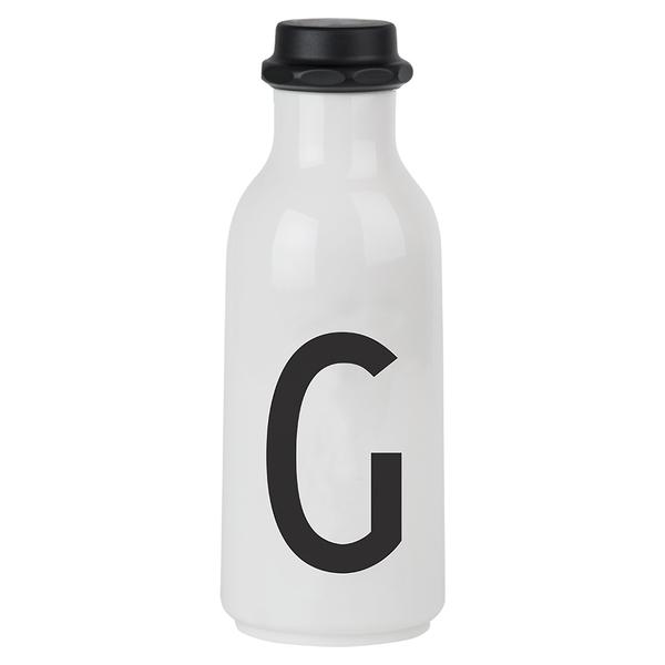 Design Letters Water Bottle - G