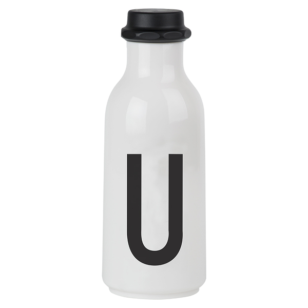 Design Letters Water Bottle - U