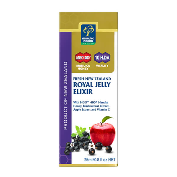 New Zealand Royal Jelly Elixir with MGO 400+ Manuka Honey - 25ml