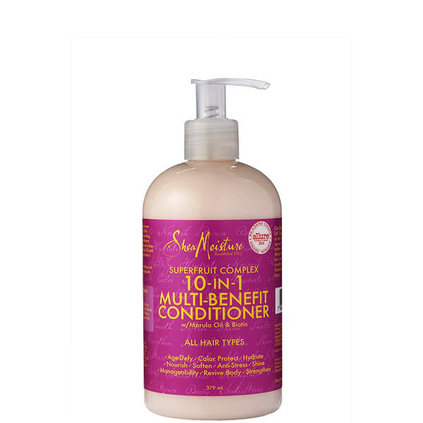 Acondicionador Superfruit Complex 10 in 1 Renewal System de Shea Moisture 379 ml