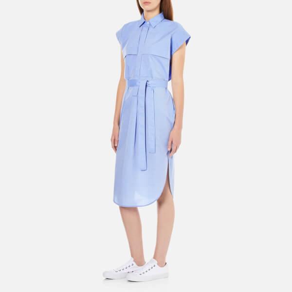 By Malene Birger Women S Elliane Dress Chambray Blue Image 2