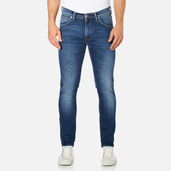 Edwin Men's Ed-85 Slim Tapered Drop Crotch Jeans - Mid Trip Used