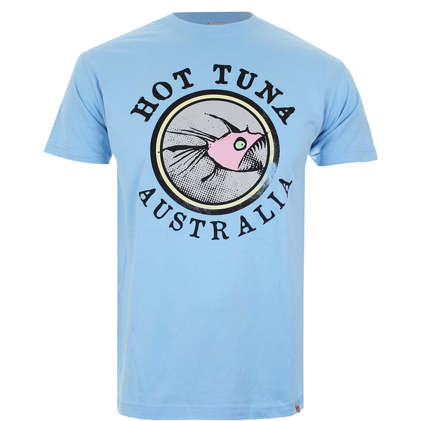 Hot Tuna Men's Australia T-Shirt - Sky Blue