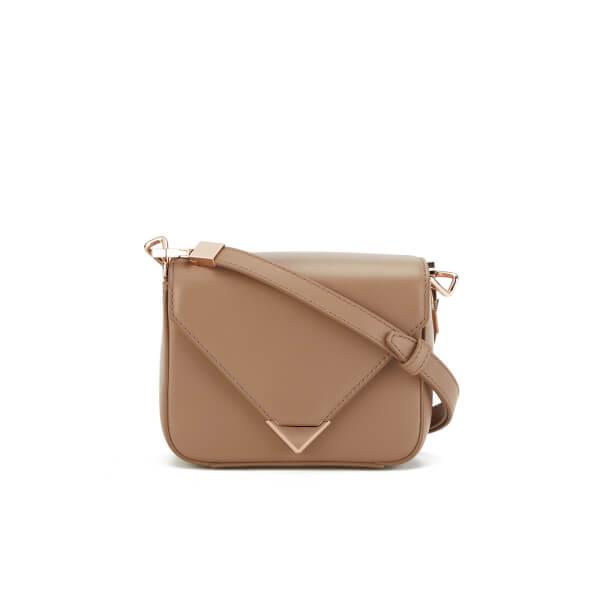 Alexander Wang Women's Prisma Envelope Mini Cross Body Bag - Latte