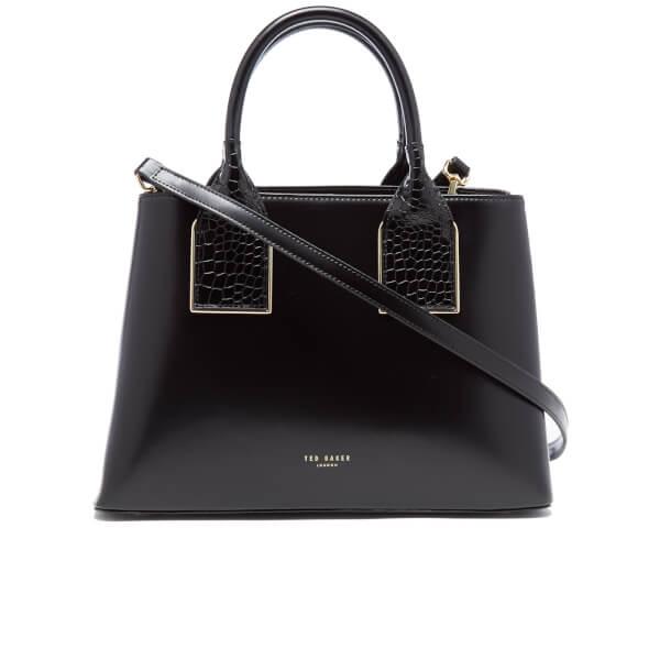 0cbda14b8b4 Ted Baker Women's Lolita Exotic Handle Tote Bag - Black: Image 1
