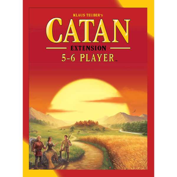 Settlers of Catan 5 & 6 Player Expansion Pack