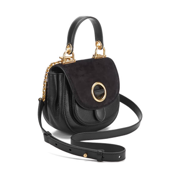 MICHAEL MICHAEL KORS Women s Isadore Small Top Handle Messenger Bag - Black   Image 2 04ddc58400c80