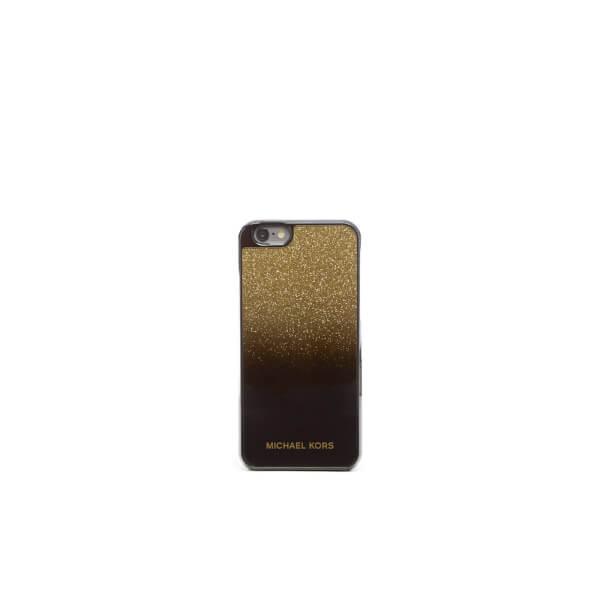MICHAEL MICHAEL KORS Women's Glitter iPhone 6 Cover - Gold