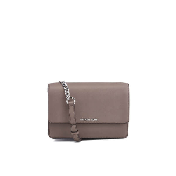 60401b6b988a MICHAEL MICHAEL KORS Women's Daniela Small Flap Cross Body Bag - Cinder:  Image 1