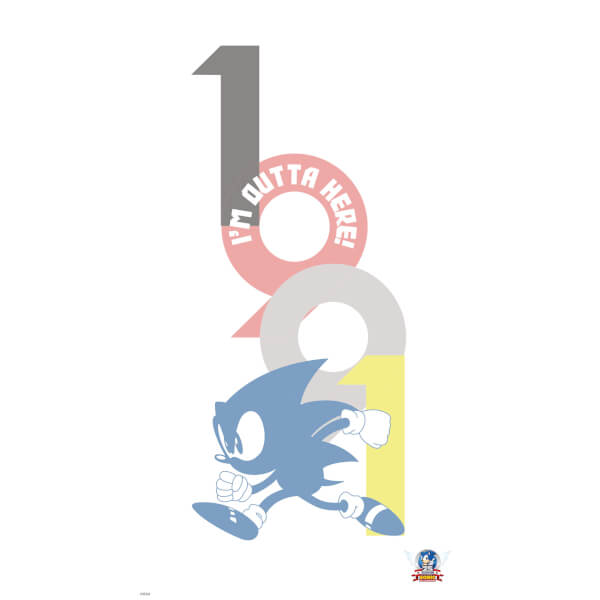 Sonic Olympics Limited Edition Giclee Art Print - Timed Sale