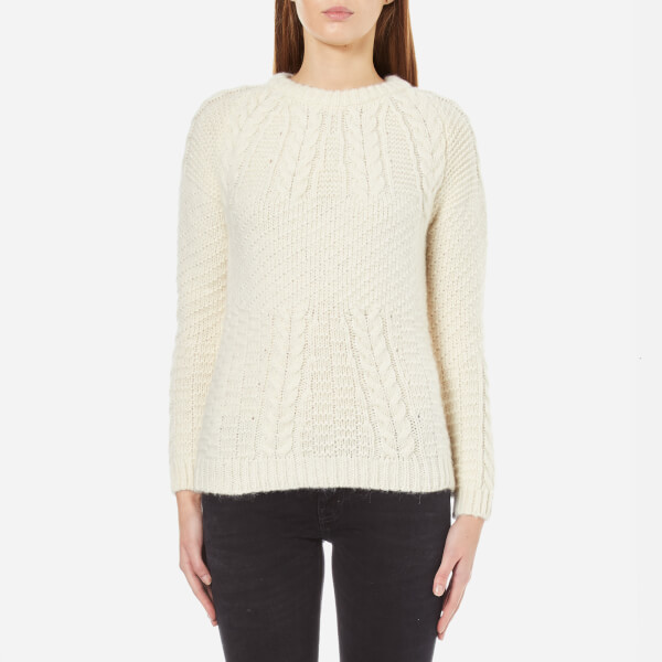 A.P.C. Women's Ennis Jumper - Cream