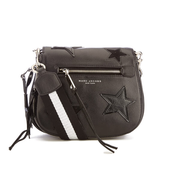 Marc Jacobs Women's Star Patchwork Small Saddle Bag - Black/Multi