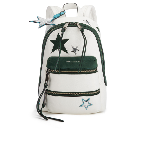 Marc Jacobs Women's Star Patchwork Backpack - White/Multi