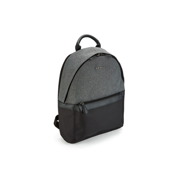 968a138173b4cd Ted Baker Men s Seata Nylon Backpack - Charcoal  Image 3