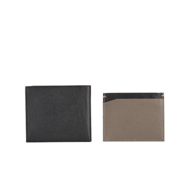 e56e520d8 Ted Baker Men s Frank Leather Wallet and Card Holder Set - Black  Image 2