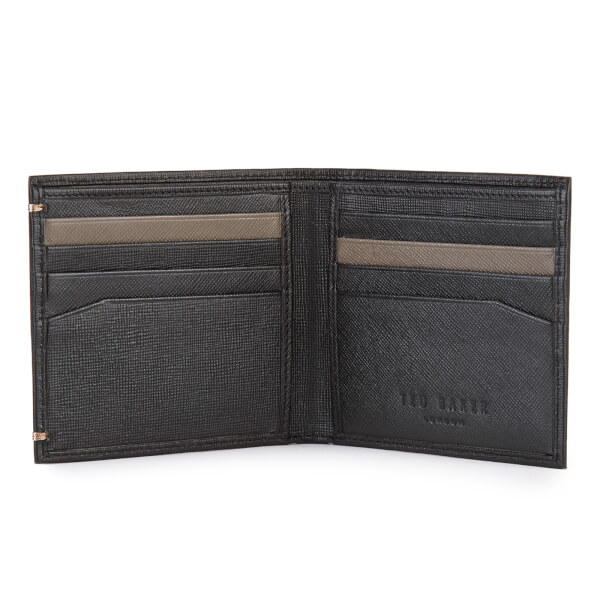 d6adb5604 Ted Baker Men s Frank Leather Wallet and Card Holder Set - Black  Image 4