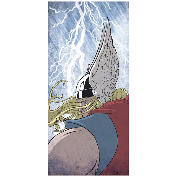 Affiche Thor Dieu du Tonnerre - Fine Art