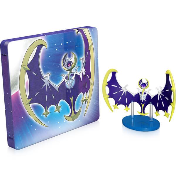 Pokémon Moon Steelbook + Lunala Figurine