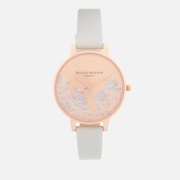Olivia Burton Women's Watch - Blush/Rose Gold