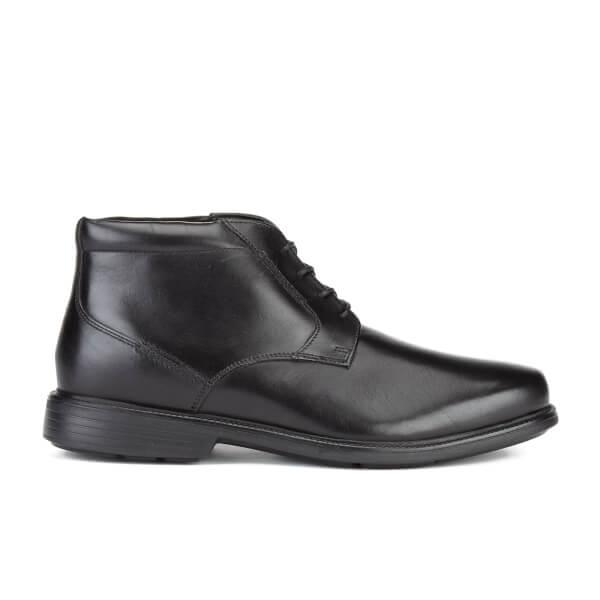 Rockport Men's Charles Road Plaintoe Chukka Boots - Black: Image 1