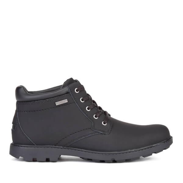 Rockport Men's Storm Surge Plain Toe Waterproof Boots - Black