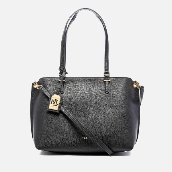 f83f38e387 Lauren Ralph Lauren Women s Anfield Claire Shopper Bag - Black  Image 1