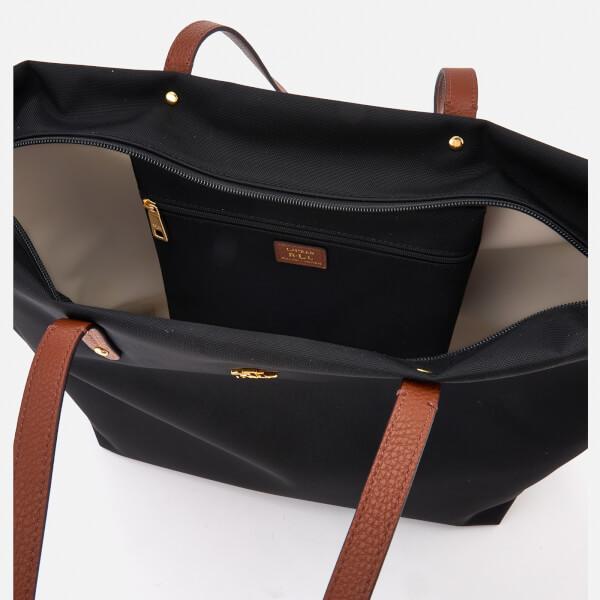 Lauren Ralph Lauren Women s Bainbridge Tote Bag - Black - Free UK ... 51911bb053