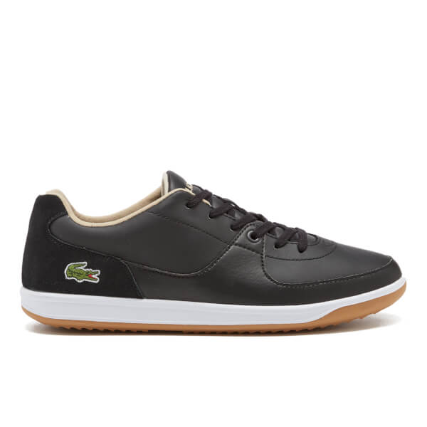 Lacoste Men's LS.12-Minimal Ripple 316 1 Low Profile Trainers - Black: