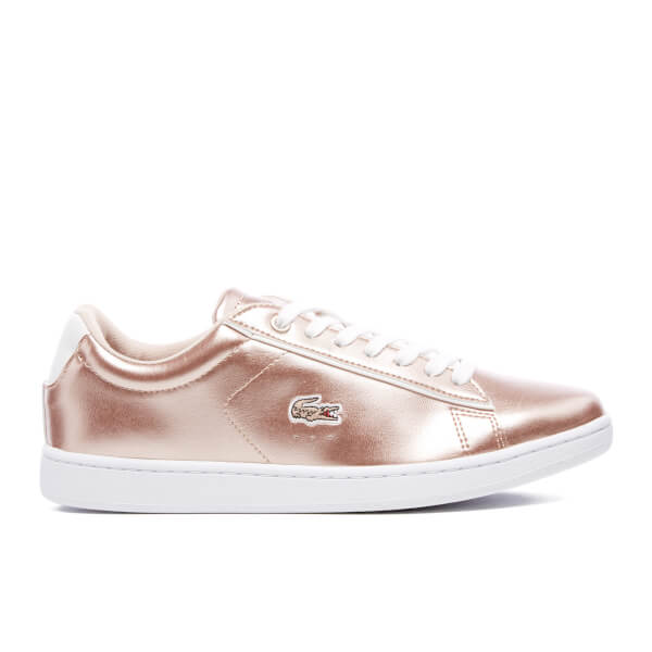 9c6c837758 Lacoste Women's Carnaby Evo 316 2 Trainers - Light Pink | FREE UK ...