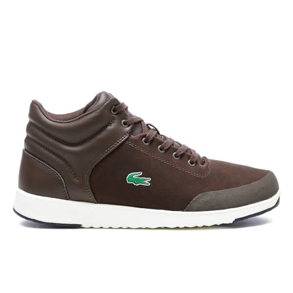 Lacoste Men's Tarru-Light 416 1 Hi-Top Trainers - Dark Brown