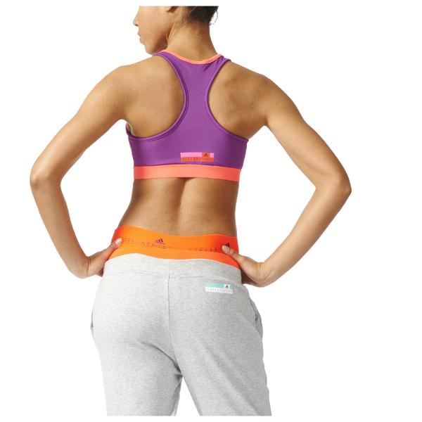 adidas Women s Stella Sport Padded Training Sports Bra - Purple  Image 3 074acd12f4