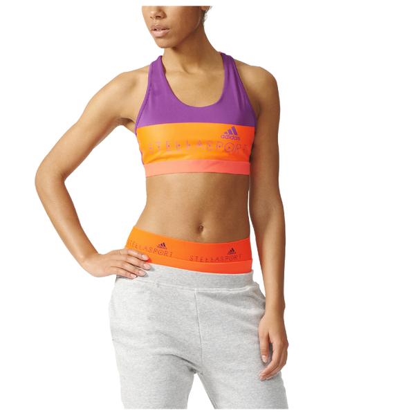 adidas Women s Stella Sport Padded Training Sports Bra - Purple  Image 1 fa318c28b1