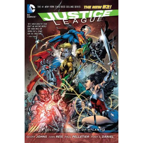 Justice League: Throne of Atlantis - Volume 3 Graphic Novel