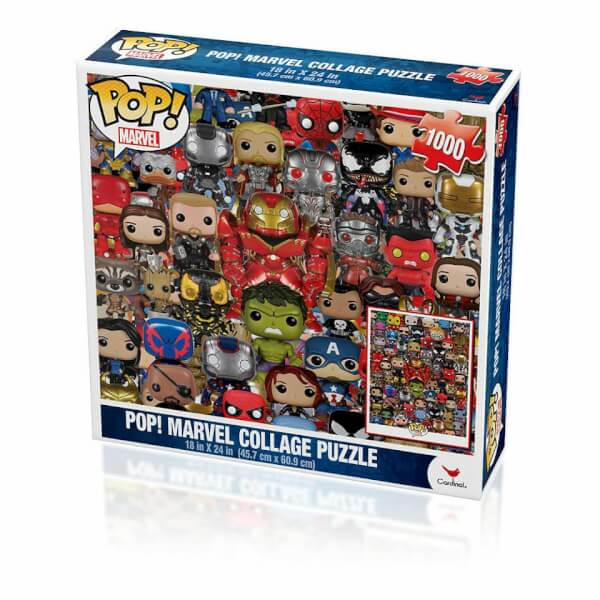 Marvel Comics Pop! Marvel Jigsaw Puzzle Collage 1000 Pieces