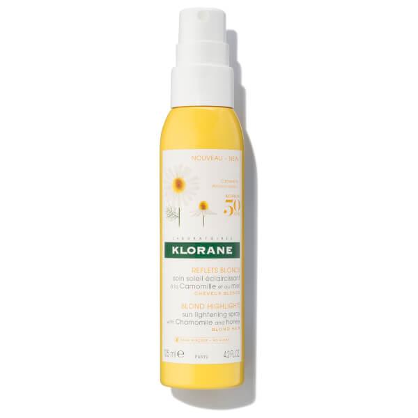 KLORANE Sun Lightening Spray with Chamomile and Honey - 4.22 fl. oz.