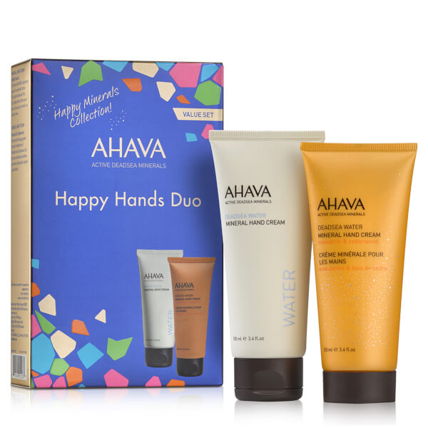 AHAVA Happy Minerals Hand Cream Duo