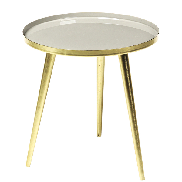 broste copenhagen jelva brass table iwoot. Black Bedroom Furniture Sets. Home Design Ideas