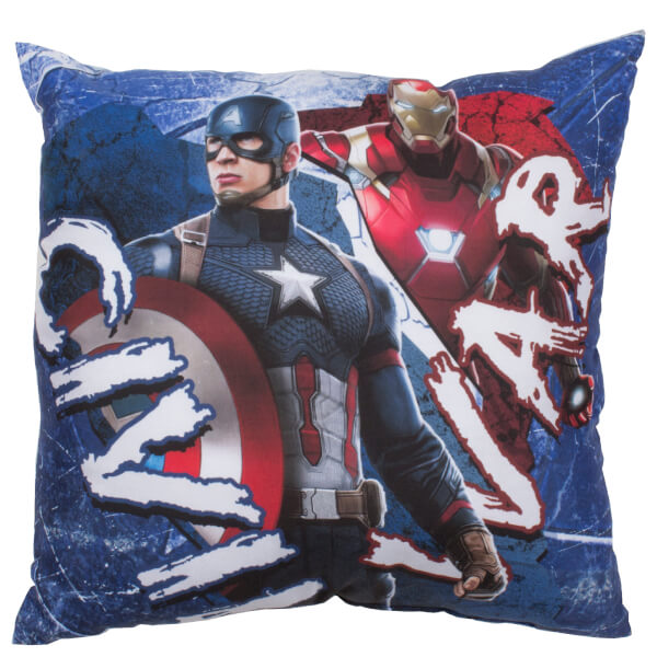 Coussin Réversible Captain America: Civil War - 40 x 40cm